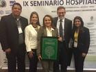 HRBA ganha prêmio em São Paulo por promover práticas sustentáveis