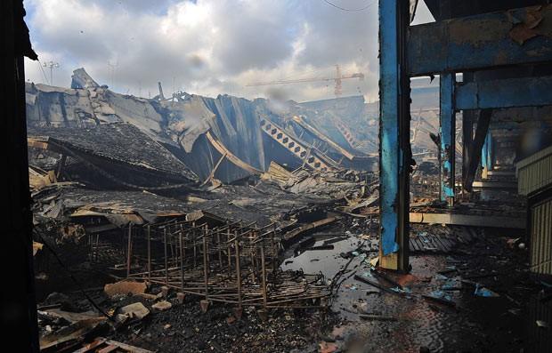 Aeroporto Nairobi : G policiais são suspeitos de furto no incêndio