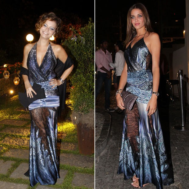 Milena Toscano e Ana Beatriz Barros (Foto: AgNews)