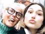 Xuxa visita Sasha em Nova York: 'Matando as saudades'