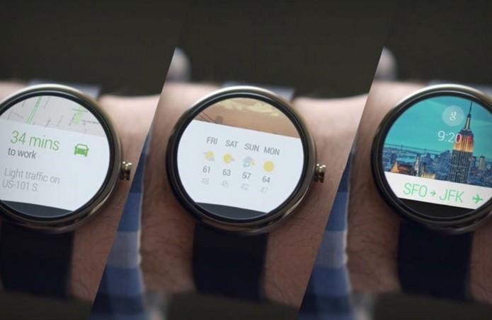 48eadad3898 Apple Watch e Android Wear  compare o sistema dos relógios ...
