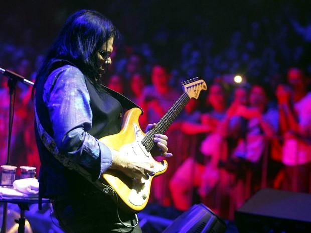 Pepeu Gomes, o virtuoso da guitarra (Foto: Manu Dias/GOVBA)