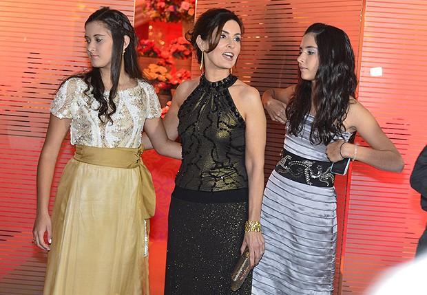 Beatriz, Fátima e Laura (Foto: André Muzell/ Agnews)