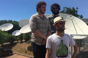 Trio gaúcho Dingo Bells estreia no Planeta Atlântida 2016 (Foto: Aline Cornely / Gshow)