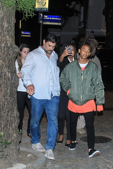 Jaden Smith, filho de Will Smith (Foto: Marcello Sá Barretto/AgNews)