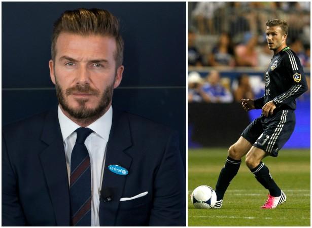 As pernas do ex-jogador de futebol David Beckham têm um seguro de 70 milhões de dólares. (Foto: Getty Images)
