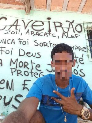Preso é suspeito de liderar facção criminosa e de cometer homicídios (Foto: Dviulgação/SSP-BA)