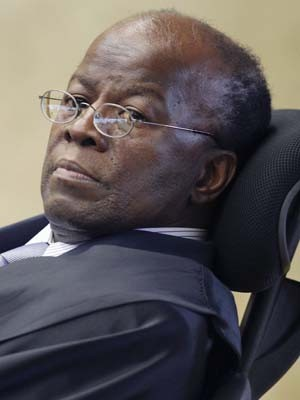 O ministro do STF Joaquim Barbosa, relator do mensalão (Foto: Ueslei Marcelino/Reuters)