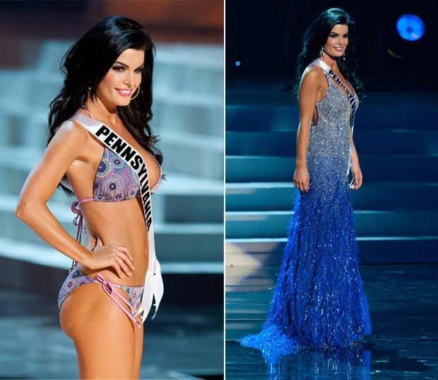 A Miss Pensilvânia, Sheena Monnin (Foto: AP)