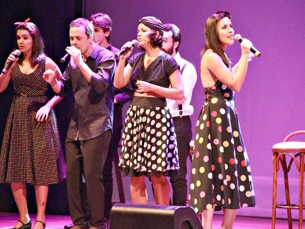 Grupo se apresentou em Manaus pela primeira vez nesta sexta-feira (18) (Foto: Indiara Bessa/G1 AM)