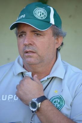 Vadão, técnico do Guarani (Foto: Bernardo Medeiros/ Globoesporte.com)