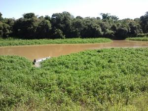 Proposta do governador é captar água de afluente do rio Paraíba do Sul. (Foto: Suellen Fernandes/G1)
