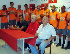 Reapresentação do América-SP para a Copa Paulista (Foto: Marcos Lavezo/Globoesporte.com)