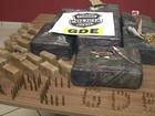 Após denúncia, policiais apreendem 14 mil cartuchos de munição, no PR