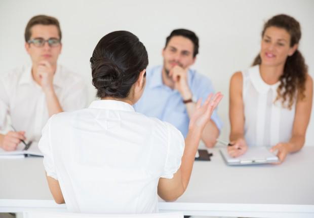 Entrevista de emprego  (Foto: Thinkstock)