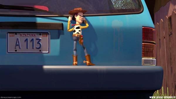 A Disney e a Pixar esconderam um código em muitos de seus filmes