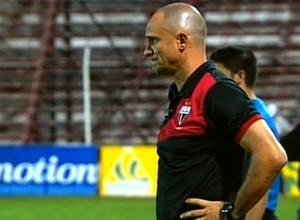 Wagner Lopes - técnico Atlético-GO (Foto: Reprodução / PFC)
