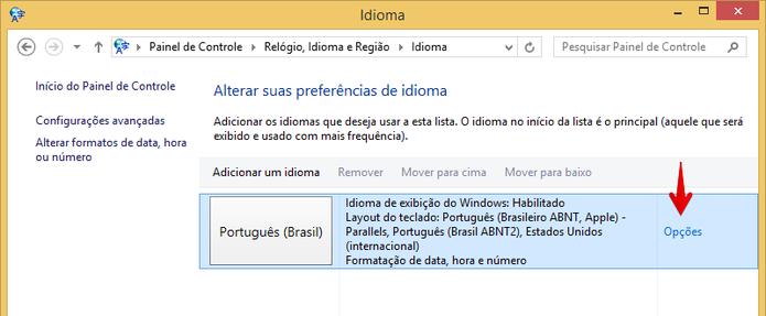 Acesse as configurações do idioma (Foto: Reprodução/Helito Bijora)  (Foto: Acesse as configurações do idioma (Foto: Reprodução/Helito Bijora) )