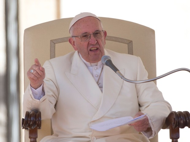 Papa Francisco classificou o dinheiro como 'o esterco do diabo' (Foto: Alessandra Tarantino/AP)