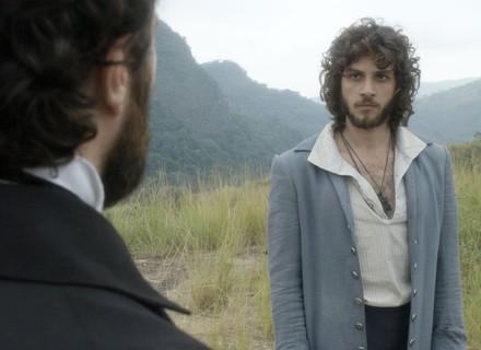 Thomas aponta arma para Joaquim e avisa: 'Nunca mais verá Anna'