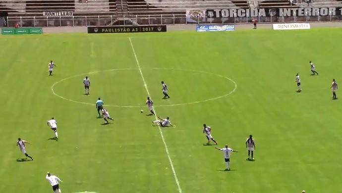 Inter de Limeira x Paulista Série A3 (Foto: Reprodução / FPF)