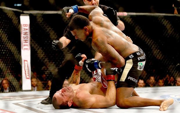 Gleison Tibau luta UFC 168 derrota (Foto: Getty Images)