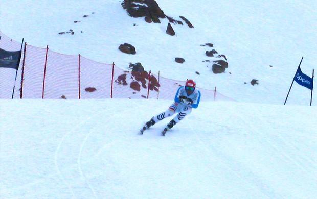Esqui Josef Ferstl, Valle Nevado (Foto: Divulgação / CBDN)