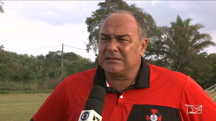 Ruy Scarpino é o treinador do Moto Club (MA) (Foto: Reprodução/TV Mirante)