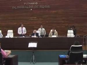 Câmara de Santos votou projeto de lei nesta quinta (Foto: Reprodução/TV Tribuna)