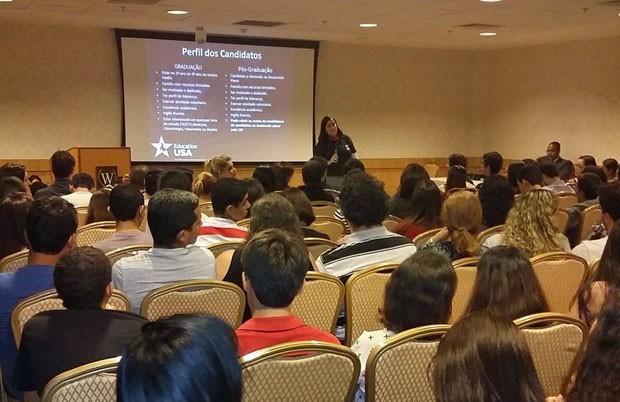 EducationUSA é organizada pelo governo dos EUA e tem mais de 60 universidades confirmadas (Foto: Divulgação/EducationUSA)