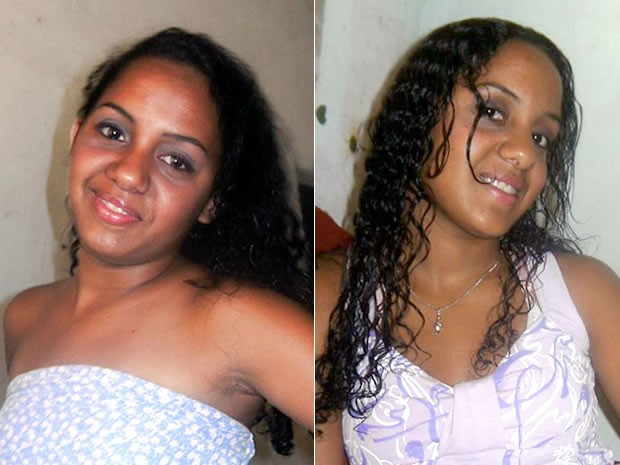 Ana Carolina e Ana Carina sumiram há quatro dias, em Várzea Grande (Foto: Arquivo pessoal)