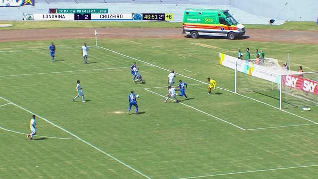 Londrina x Cruzeiro - Primeira Liga 2017-2017 - globoesporte.com bc206074d2f76