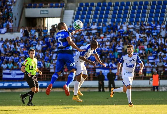 Panda marcou seu segundo gol com a camisa azulina (Foto: Ailton Cruz/Gazeta de Alagoas)