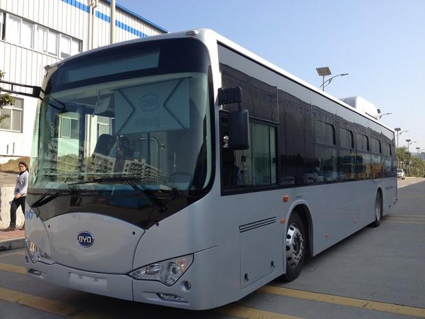 O Eco-ônibus K-9 ficará em Palmas até a próxima terça-feira (25) (Foto: Divulgação/Ascom Prefeitura Palmas)