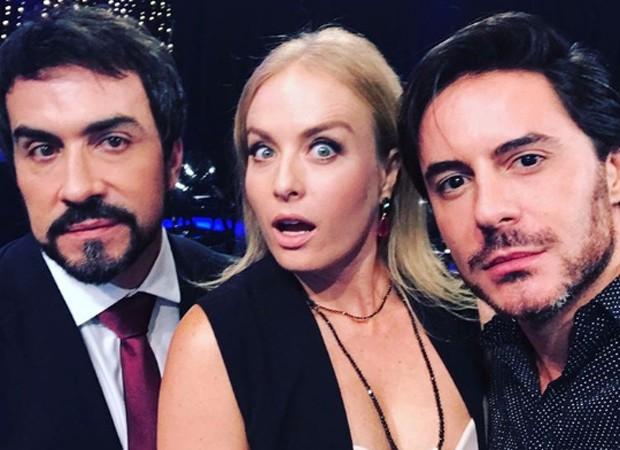 Padre Fábio de Melo, Angélica e Ricardo Tozzi (Foto: Reprodução/Instagram)
