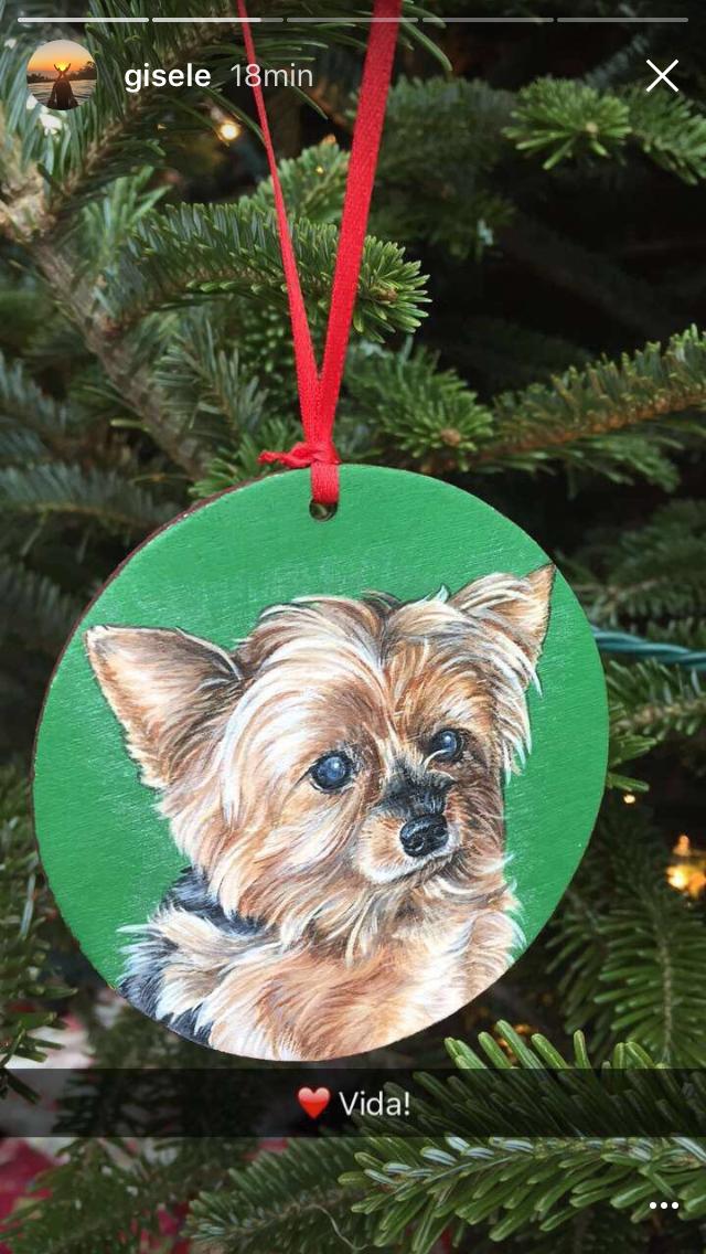 A árvore de Natal de Gisele Bündchen  (Foto: Reprodução/Instagram)