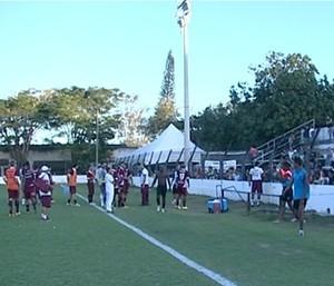 Copa Espírito Santo 2014: Desportiva Ferroviária x Atlético-ES (Foto: Reprodução/TV Gazeta Sul)