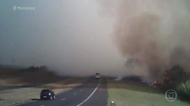 Saiba como se proteger de incêndios florestais em estradas