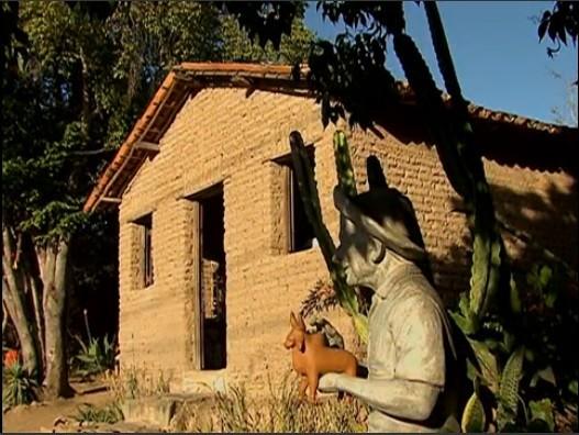 Reportagem especial do centenário da produção de arte figurativa no Alto do Moura (Foto: Reprodução/ TV Asa Branca)