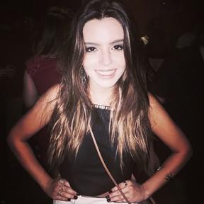 Giovanna Lancellotti em festa de Hugo Gloss na Zona Sul do Rio (Foto: Instagram/ Reprodução)