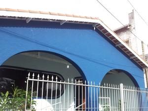 Casa paroquial será utilizada para a apuração dos votos em Eldorado, SP (Foto: Mariane Rossi/G1)