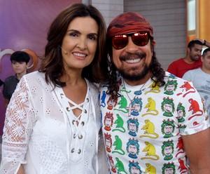 Bell Marques esteve com Fátima Bernardes, no 'Encontro' (Foto: Renata Viot / Gshow)