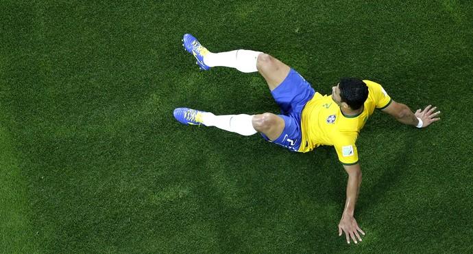 Hulk derrota Brasil x Alemanha (Foto: AFP)