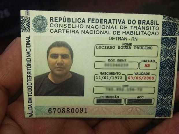 Luciano de Souza Paulino tinha 44 anos  (Foto: PM/Divulgação)