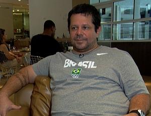 Albertinho: lesões atrapalharam Cielo nos Jogos de Londres (Foto: Reprodução SporTV)