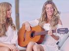 Ivete Sangalo e Gisele Bündchen cantam juntas em campanha