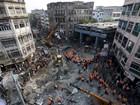 Novo balanço da queda de elevado na Índia indica mais de 20 mortos
