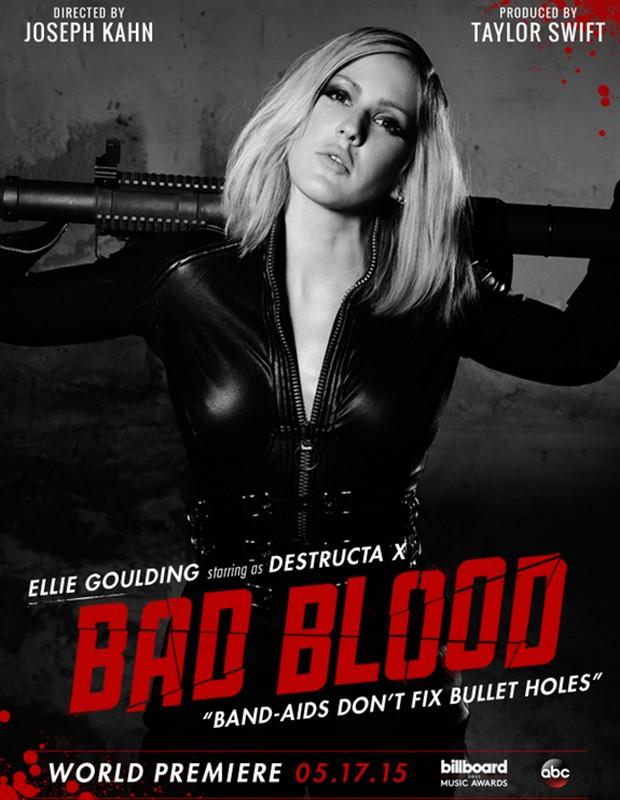 Ellie Goulding é Destructa X (Foto: Divulgação)