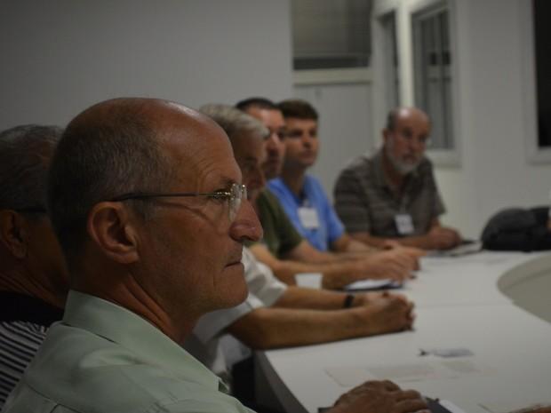 Camolesi, durante reunião do Mandato Coletivo em Piracicaba (Foto: Thomaz Fernandes/G1)
