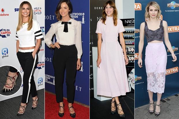 [ MODA ]  Cheryl Cole, Abigail Spencer, Alexa chung e Emma Roberts (Foto: Getty Images)